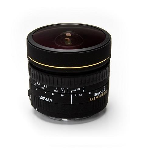 8mm f3.5EX DG Circular fisheye Lens Product Image (Primary)