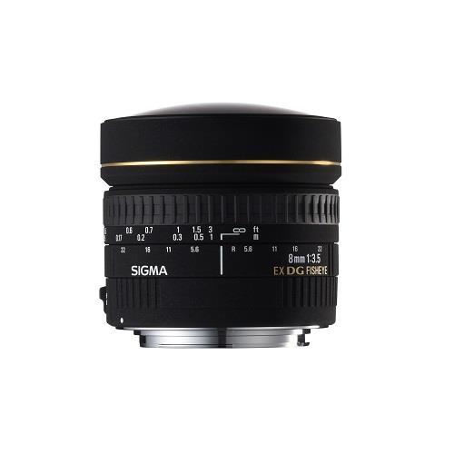 8mm f3.5EX DG Circular fisheye Lens Product Image (Secondary Image 1)
