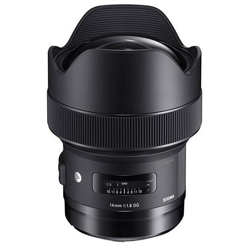 14mm f/1.8 DG HSM A Lens for Canon Product Image (Primary)