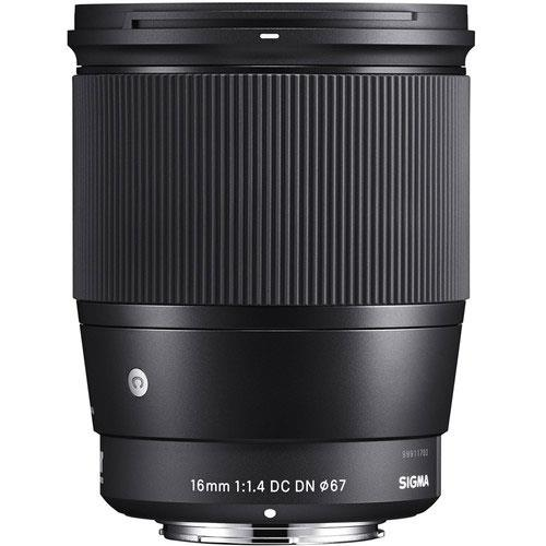 Sigma 16mm f/1.4 DC DN Contemporary Lens for Sony E-Mount Product Image (Secondary Image 1)
