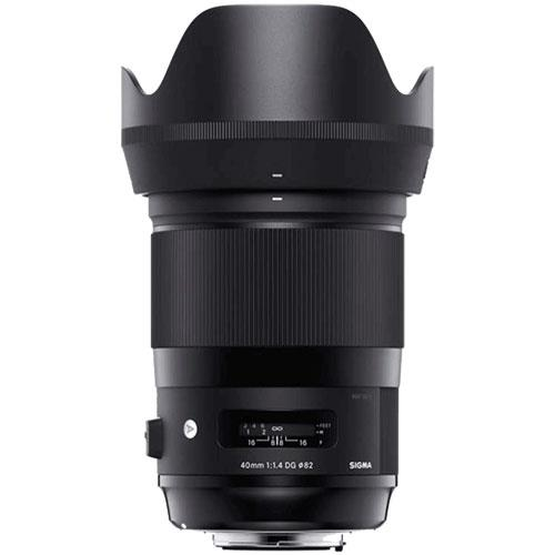 40mm F1.4 DG HSM A Lens - Nikon F Mount Product Image (Secondary Image 1)