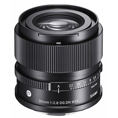 90mm F2.8 DG DN C Lens - Sony E-Mount Product Image (Primary)