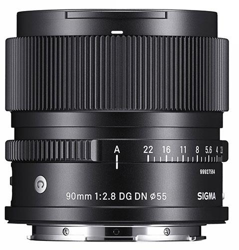 90mm F2.8 DG DN C Lens - Sony E-Mount Product Image (Secondary Image 1)