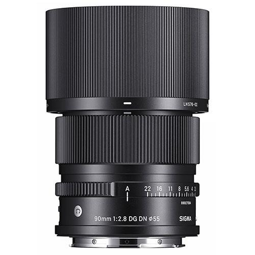 90mm F2.8 DG DN C Lens - Sony E-Mount Product Image (Secondary Image 2)