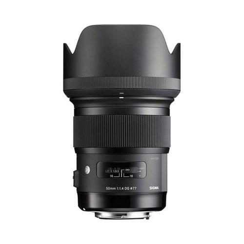 50mm f/1.4 DG HSM Art Lens - Canon Fit Product Image (Secondary Image 2)