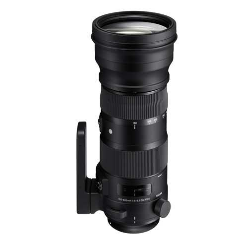 Sigma 150-600mm f5-6.3 S DG OS HSM Lens - Nikon Fit Product Image (Primary)