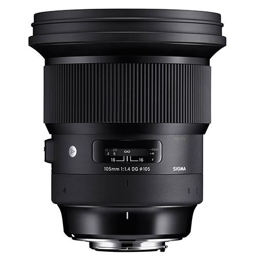SIG105mm F1.4 DG HSM Art-Nikon Product Image (Secondary Image 1)