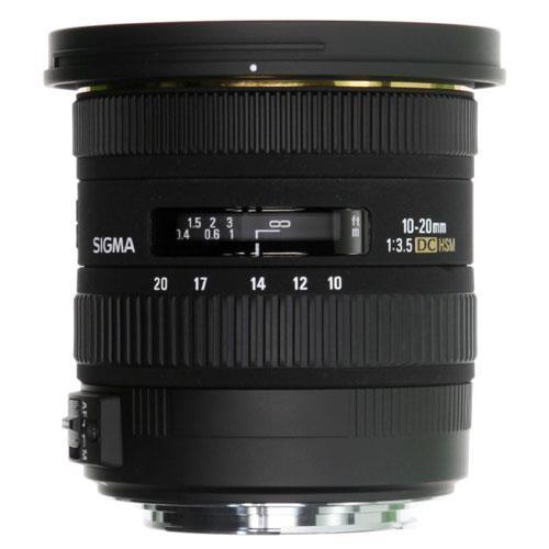 10-20mm f3.5 EX DC HSM Lens - Sony AF Product Image (Primary)