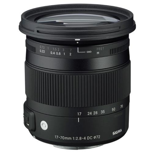 17-70mm f2.8-4 DC Macro OS HSM Lens for Nikon AF Product Image (Primary)