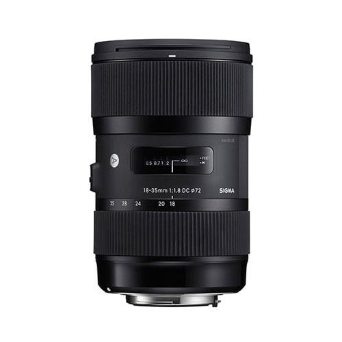 18-35mm f/1.8 HSM DC Lens (Nikon AF fit) Product Image (Primary)