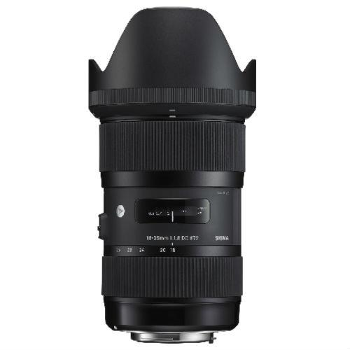 18-35mm f/1.8 HSM DC Lens (Nikon AF fit) Product Image (Secondary Image 1)