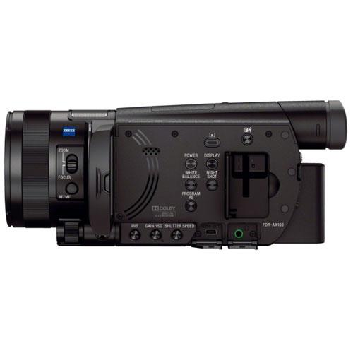 FDR-AX100E Camcorder Product Image (Secondary Image 2)
