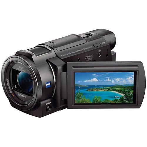 FDR-AX33 4K Handycam Camcorder Product Image (Primary)