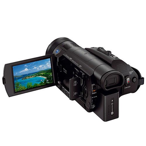 FDR-AX700 4K HDR Camcorder Product Image (Secondary Image 2)