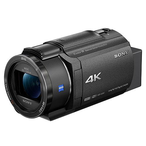 AX43 4K Handycam Camcorder Product Image (Secondary Image 1)