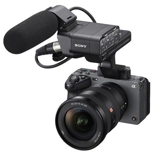 FX3 Full Frame Cinema Camera Product Image (Secondary Image 3)