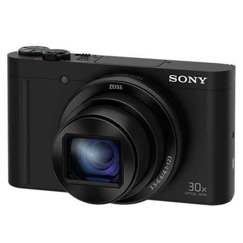 Cyber-shot DSC WX500 Digital Camera in Black Product Image (Secondary Image 3)