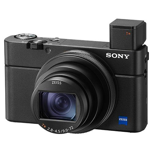 Cyber-Shot RX100 VII Digital Camera Product Image (Secondary Image 2)