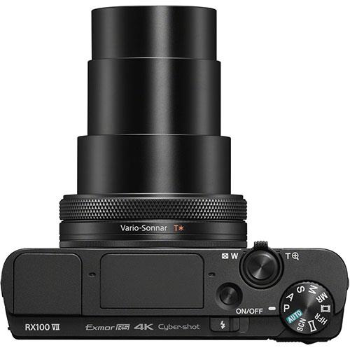 Cyber-Shot RX100 VII Digital Camera Product Image (Secondary Image 6)