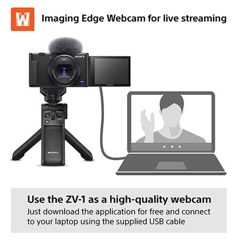 ZV-1 Compact Vlogger Camera Product Image (Secondary Image 5)