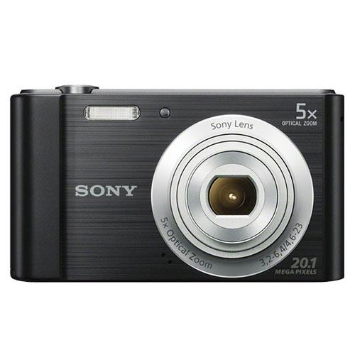 Cyber-shot DSC-W800 Digital Camera in Black Product Image (Secondary Image 1)