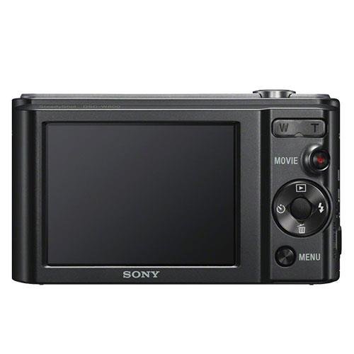 Cyber-shot DSC-W800 Digital Camera in Black Product Image (Secondary Image 2)