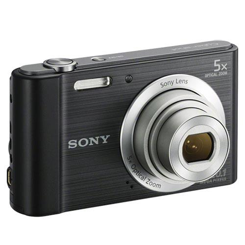 Cyber-shot DSC-W800 Digital Camera in Black Product Image (Secondary Image 3)