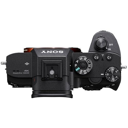 a7R III Mirrorless Camera Body Product Image (Secondary Image 4)