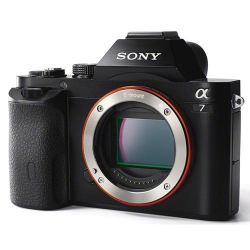 Sony a7 Mirrorless Camera Body with 50mm f/1.8 Lens, Sony Bag and Spare Battery Product Image (Secondary Image 2)