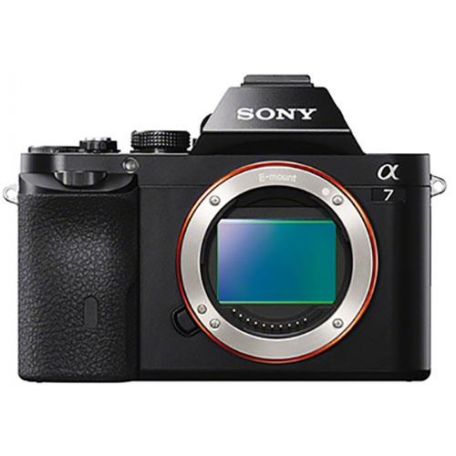Sony a7 Mirrorless Camera Body with 50mm f/1.8 Lens, Sony Bag and Spare Battery Product Image (Secondary Image 3)