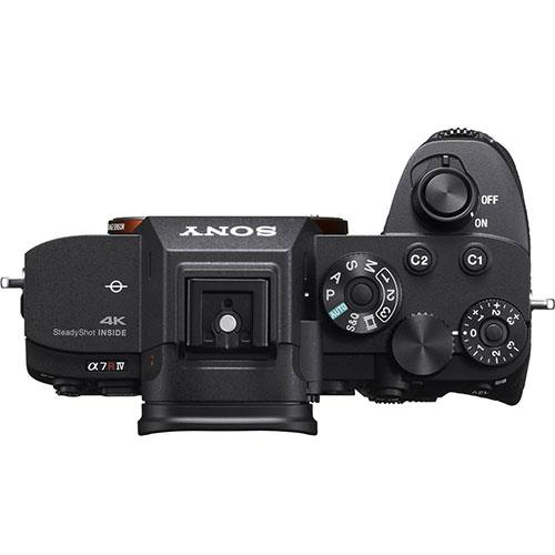 a7R IV Mirrorless Camera Body Product Image (Secondary Image 4)