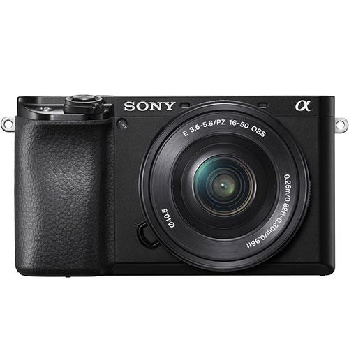 A6100 Mirrorless Camera in Black with 16-50mm and 55-210mm Lenses Product Image (Secondary Image 2)