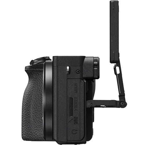 A6600 Mirrorless Camera Body in Black Product Image (Secondary Image 4)