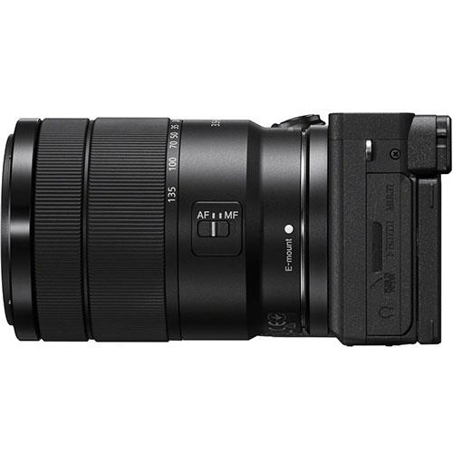 A6600 Mirrorless Camera in Black with 18-135mm f/3.5-5.6 OSS Lens Product Image (Secondary Image 5)