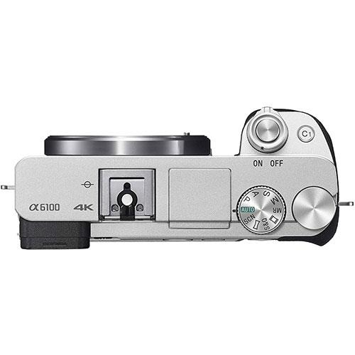 A6100 Mirrorless Camera in Silver with 16-50mm f/3.5-5.6 OSS Lens Product Image (Secondary Image 2)