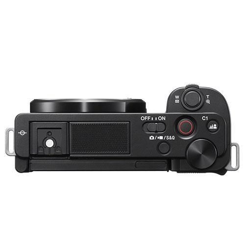 ZV-E10 Mirrorless Vlogger Camera Body in Black Product Image (Secondary Image 2)