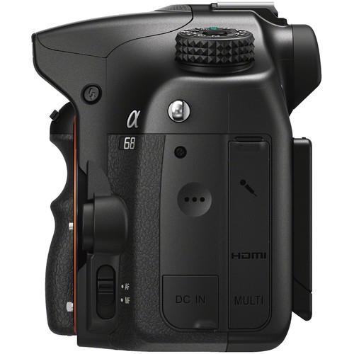 Alpha A68 Digital SLR Camera Body Product Image (Secondary Image 2)