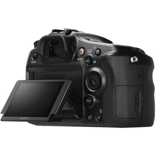 Alpha A68 Digital SLR Camera Body Product Image (Secondary Image 5)
