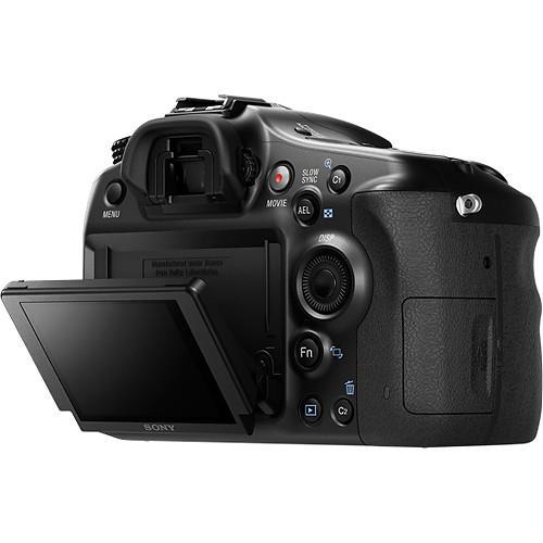 Alpha A68 Digital SLR Camera Body Product Image (Secondary Image 6)