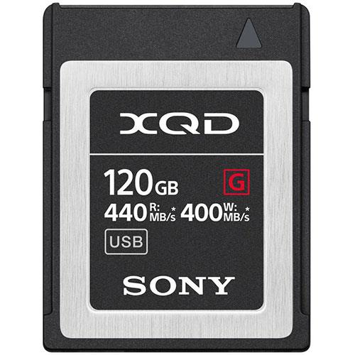 XQD G Series 120GB Memory Card Product Image (Primary)