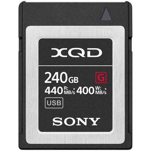 XQD G Series 240GB Memory Card Product Image (Primary)
