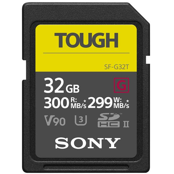 Sony TOUGH UHS-II SDHC 32GB Product Image (Primary)