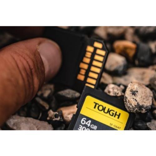 Sony TOUGH UHS-II SDXC 64GB Product Image (Secondary Image 2)