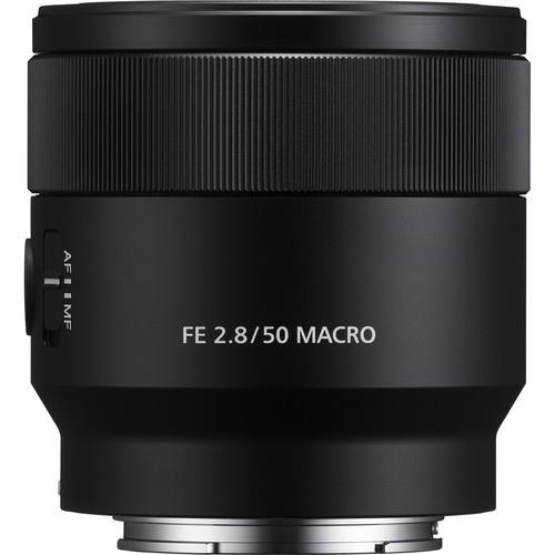 FE 50mm Macro f/2.8 Lens Product Image (Secondary Image 1)