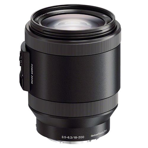 E PZ 18-200mm f/3.5-6.3 OSS Lens Product Image (Primary)