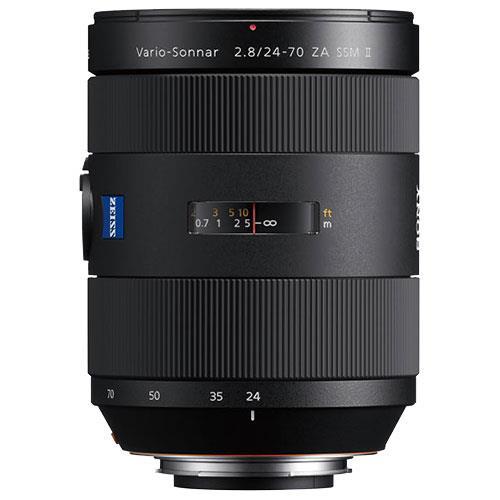 Vario-Sonnar T* 24-70mm F2.8 ZA SSM II Lens Product Image (Secondary Image 1)