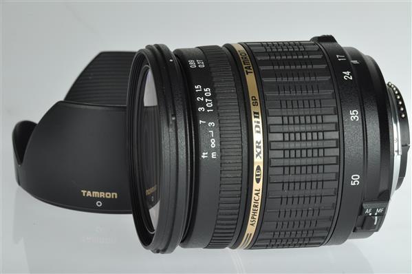 SP 17-50mm F2.8 Di II LD Nikon AF Zoom Lens Product Image (Primary)