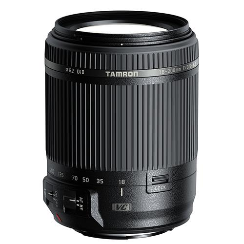 18-200mm f/3.5-6.3 DI II VC Lens - Nikon Product Image (Primary)
