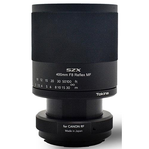 SZX 400mm F8 Reflex MF Lens - Canon RF Mount Product Image (Secondary Image 3)