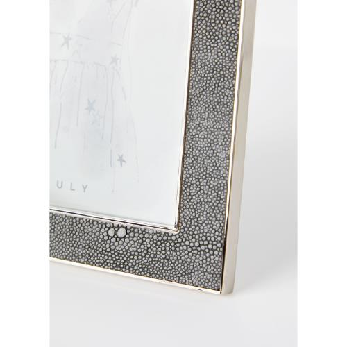 Truly Grey Shagreen 4x6 Frame Product Image (Secondary Image 1)